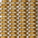 Arte decorativa di vetro del reticolo di mosaico dell'onda