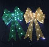 Bogen der Weihnachtsbaum-Dekoration-Dekoration-LED