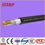 Кабель Yvz4V/Nyby, PVC 0.6/1 Kv изолировал двойную стальную ленту бронированную, Multi-Core кабели с медным проводником