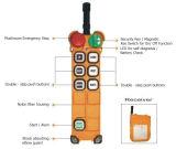pulsadores F21-6D teledirigido sin hilos de la velocidad doble 220V