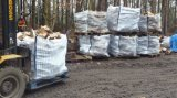 Sac enorme aéré pour le bois de chauffage