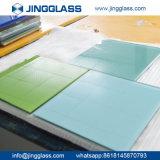 Kunst dekorative keramische Siclkscreen ausgeglichene Glastür-Glasblatt-Fabrik