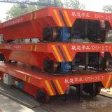 Elektrischer Bahntransport-Blockwagen auf Spur für schwere Materialbehandlung