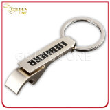 Titular de chave de metal retangular de gravura personalizada