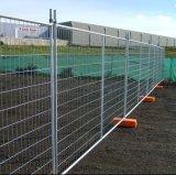 Rete fissa del Temp della maglia del filo di acciaio per la costruzione di sicurezza