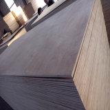 Pente en bois dure rouge du contre-plaqué Bb/Bb pour des meubles