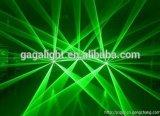 Luz laser de la animación de Green8000MW