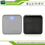 RoHS e CE e FCC Solar power bank portátil fino