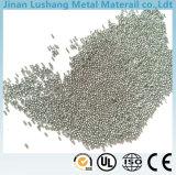 El producto tiene elasticidad de alta resistencia, buena, talla uniforme, dureza moderada, Bien-Órgano/tiro de acero material 410/32-50HRC/0.8mm/Stainless/abrasivos de acero