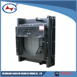 aluminio de Cusomized del radiador de la calefacción del radiador de 4bt-12 Weichuang o radiador del cobre