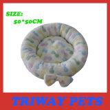 高いQuaulityおよび慰めの珊瑚のビロード犬のベッド(WY161046)