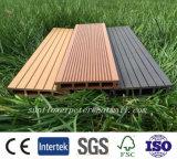 Decking ao ar livre da alta qualidade WPC, Decking composto plástico de madeira