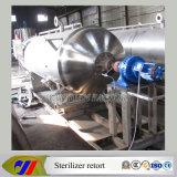 A água quente (rotativo) Tipo de retorta Esterilizador autoclave