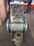 Robinet à tournant sphérique hydraulique électrique de tourillon