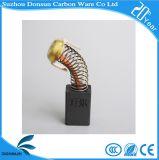 Щетка углерода мотора DC для електричюеских инструментов
