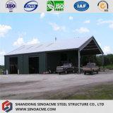 Oficina estrutural Turn-Key de aço pré-fabricada da qualidade de Lituania