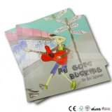 Livre Softcover polychrome respectueux de l'environnement d'histoire d'enfants