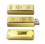 Панель золотистого цвета на 8 ГБ диск USB