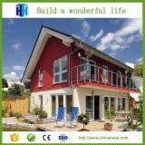 Heißer populärer vorfabrizierter Luxuxfertigstahlferien-Landhaus-Entwurf