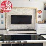 3D en PVC décoratifs Soundabsorb Panneau d'auto-adhésif pour salle de Rideo