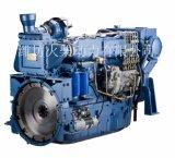 Mariene Motor van de Motor 170HP van de Boot van de Brandstof Wd10/Wd615 van Weichai de Lage