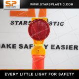 T-oberster warnender flexibler Verkehrdelineator-Pfosten mit Gummiunterseite