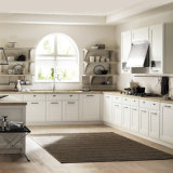 Form-Entwurfs-europäische Art-Küche-Schrank-Küche-Tür