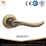문 기계설비, 로즈 (Z6097-ZR11)에 매트 커피 색깔 문 레버 손잡이