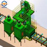 Vernietigen van de Lijn van de Voorbehandeling van de Oppervlakte van de Plaat van het staal het Automatische/het Vernietigen van het Schot van het Type van Rol van de Machine/van het Wiel