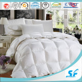 Fiber oco Quilted White Hotel Comforter com 5cm Gusset