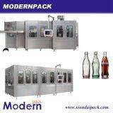 맥주 충전물 기계의 3 인조 압력 채우는 선 또는 유리