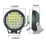 9pulgadas 185W Offroad LED de exterior de la luz de conducción con LED CREE