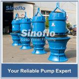 Capacité de lutte contre les inondations la grande axiale/a mélangé la pompe de asséchage submersible de flux