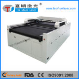 130watt CO2 láser máquina de corte para la cubierta del amortiguador del sofá del sofá