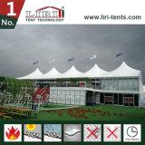 Double Decker tente pour les événements de golf, deux tentes pour la vente de plancher