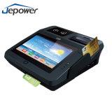 Posición de la terminal de Jepower Jp762A NFC con el certificado de EMV