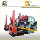Cerchione senza camera d'aria idraulico del trattore agricolo che fa macchina (riga)