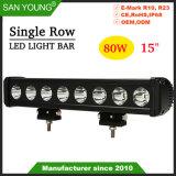 Populaire bar lumineux pour LED CREE LED Bar LED LED feux de travail de la conduite 15pouce 80W
