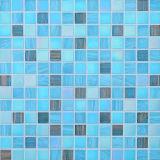 Строительный материал мозаикой плиткой синего стеклянной мозаики в бассейн