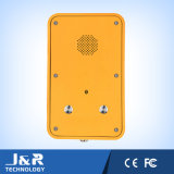 Телефоны системы управления Jr105 LCD телефона VoIP /SIP промышленные водоустойчивые
