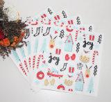 美しいクリスマスの休日のパーティのホーム装飾の紙ナプキン