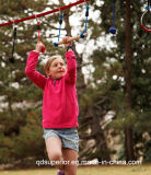 Eignung der Ninjaline Kinder durch aktives Spiel