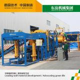 Completamente maquinaria comprimida automática do tijolo da terra da imprensa Qt10-15 hidráulica