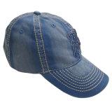 Приятный джинсовой Папа Red Hat с логотипом Gjdm1101
