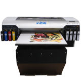 기계를 인쇄하는 상해 Wer 4800 디지털 UV 카드