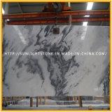 Polidos novos azulejos de mármore branco para cozinha/banheiro, andar e a Parede