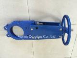 Válvula de porta da faca de En588-1 Dn50-Dn600