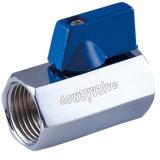 Het verchromen van Kogelkleppen van de Klep van het Messing de MiniMet Verwijderbare Handvatten