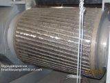 Pneumatico residuo che ricicla il macchinario del frantoio della gomma & della macchina per la gomma che ricicla riga