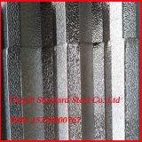 Aa 3003 lamiera sottile di alluminio ondulata del tetto 3004 H24